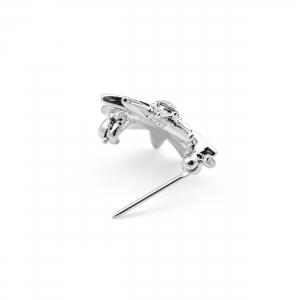 Brosche Diamantstern Klein