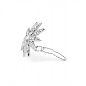 Haarspange Diamantstern groß