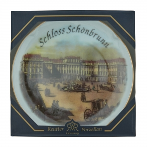 Wandteller Schönbrunn