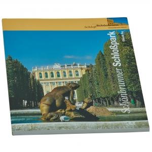 Schönbrunn Palace gardens guidebook, German