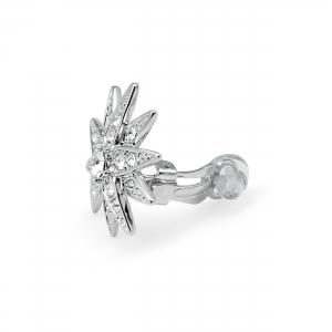 Ohrclips Diamantstern