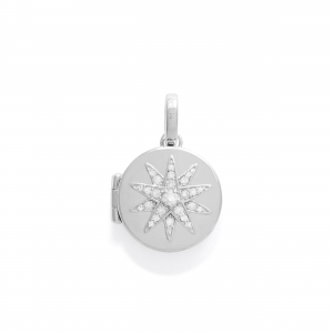 Medaillion  Stern 925 Silber