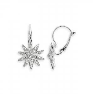Ohrringe Diamantstern Small
